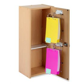 Bristol Maid Patients / Residents Own Medication Cabinet- 325 X 245 X 775mm - 2 X MDS Frame Capacity