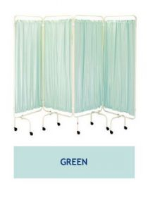Plastic Screen Curtains - Green