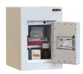 ??ontrolled Drug Cabinet, 1 shelf/1 tray, 1 door Sun-CDC21/WL