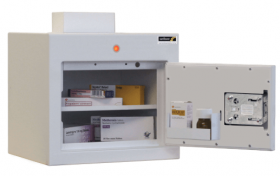 ??ontrolled Drug Cabinet, 1 shelf/1 tray, 1 door Sun-CDC22