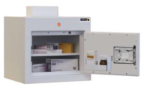 ??ontrolled Drug Cabinet, 1 shelf/1 tray, 1 door Sun-CDC22/WL