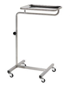 ?Mayo Table, Adjustable Height with 4 Castors