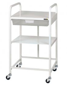 VISTA 10 Economy Trolley, 1 Clear Tray & 1 Shelf