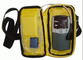 Carry Case, Black Cushioned, for use with Nonin Hand Held Oximeters