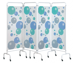 Four Panel Screen - Bubble Design