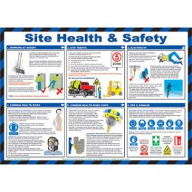 Site Health & Safety Poster