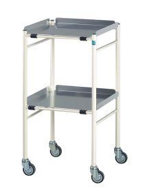 Halifax Surgical Trolley 460mm x 460mm Aluminium