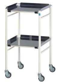Harrogate Surgical Trolley 460mm x 460mm Steel