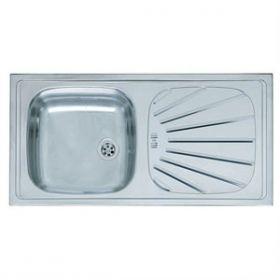 Reginox Value Sink With Drainer - No Overflow
