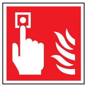 Fire Alarm Call Point Symbol, Rigid