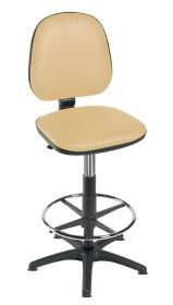 Sunflower High Level Gas-lift Chair with Foot Ring & Glides