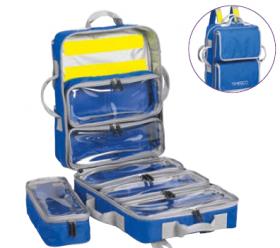 MicrAgard Emergency Backpack Blue
