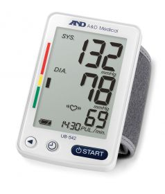 A&D Medical UB-542XL Wrist Blood Pressure Monitor