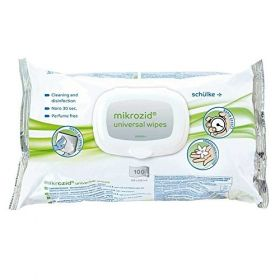 Mikrozid Universal Wipes 100 Flowpack [Pack of 6]