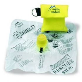 E-Shield Protective Face in Keyring Pouch [Pack of 1]