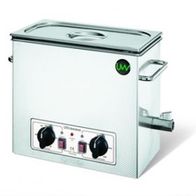 U500 Ultrasonic Cleaner with Heater, Lid and Basket