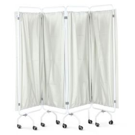 Bristol Maid Screen - Curtain - 4 Section - Folding