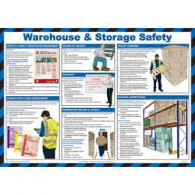 Warehouse & Storage Safety Poster